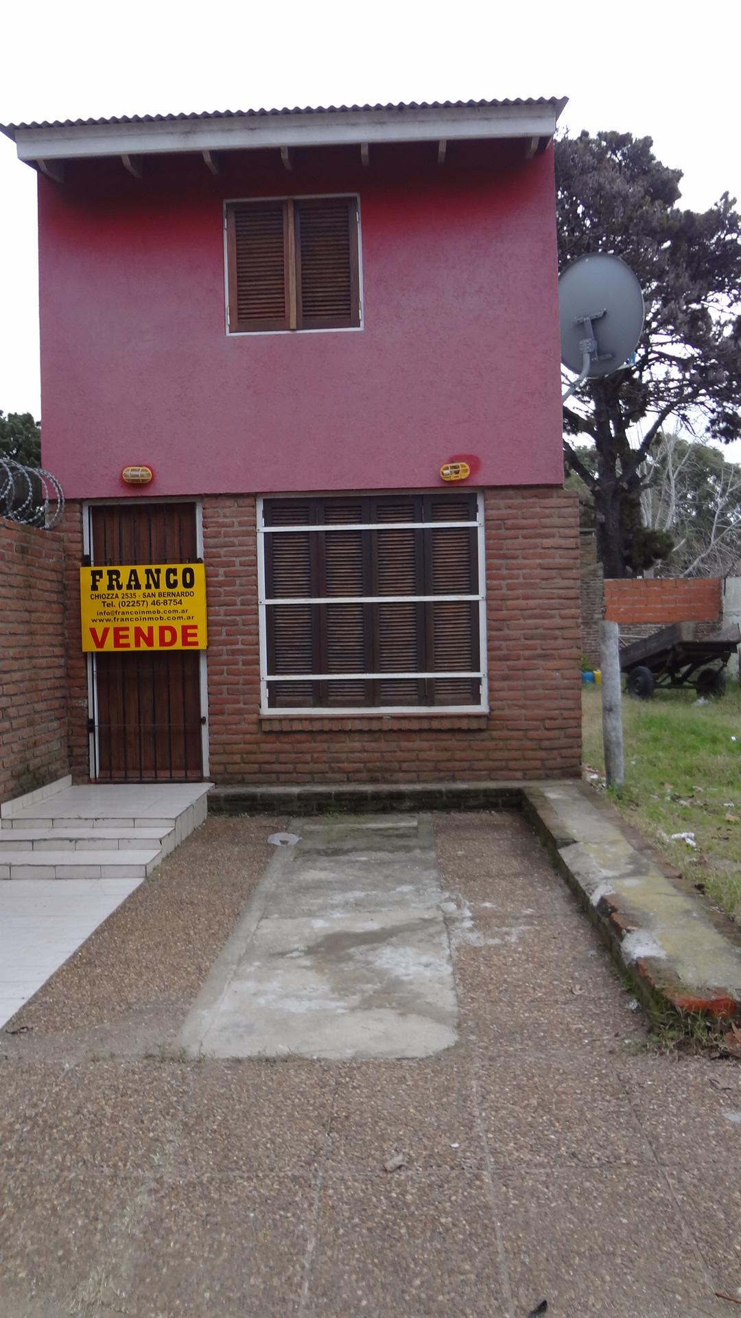 ID 60 SAN BERNARDO DUPLEX CON LOTE PROPIO