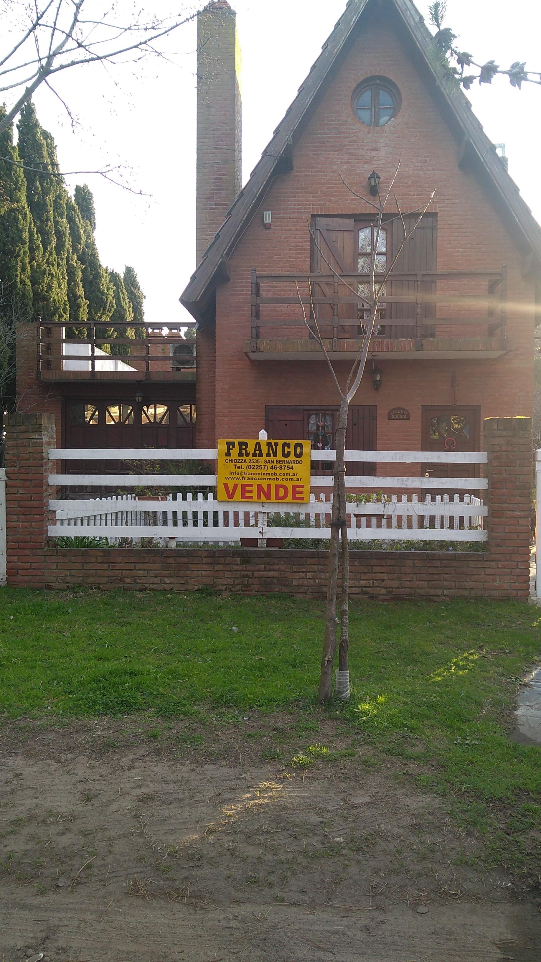 ID 16 VENTA SAN BERNARDO CASA CON LOTE